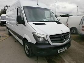 Mercedes-Benz Sprinter 313 CDI LWB 3.5T HIGH ROOF VAN DIESEL MANUAL WHITE (2014)