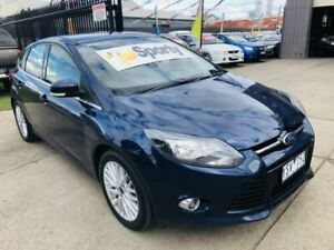 2011 Ford Focus LW Sport Blue 5 Speed Manual Hatchback Brooklyn Brimbank Area Preview