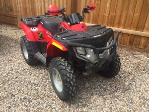 2009 polaris sportsman 400 4 x 4 quad yamaha canam suzuki cat