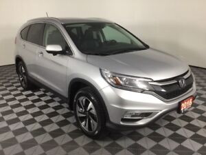 2016 Honda CR-V Touring-AWD-Accident Free-Lane watch