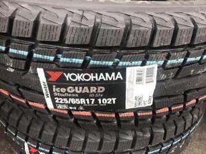 225/65/17 YOKOHAMA HIVER NEUF...(SPÉCIAL - LIQUIDATION)