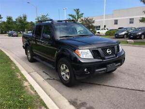 2012 FRONTIER 4WD,Crew Cab,PRO-4X, V6. LOADED, WARRANTY