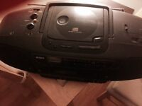 Sony stereo with tape deck and CD player