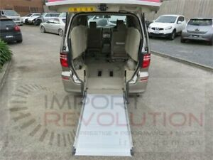 2007 Toyota Alphard MNH10W MZ Gold Automatic Wheelchair Transporter Bayswater Knox Area Preview