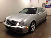 2000 Mercedes-Benz CLK-320 Silver Coupe (2 door)