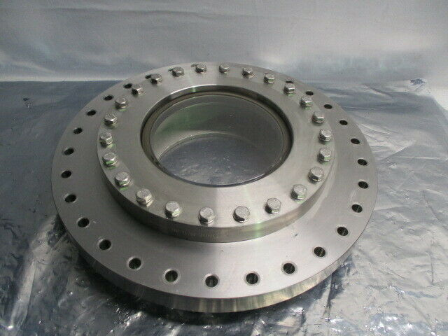 Blank Off Pumping Flange Cover Pumping Port, Gate Valve, Turbo, High VAC, 100967