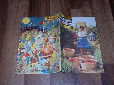 TCHIBO MAGAZIN # 156 / 1964 -- mit MUCK & PUCK von BOB HEINZ - Gehäkeltes Kleid