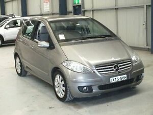 2005 Mercedes-Benz A170 W169 Elegance Grey 7 Speed CVT Auto Sequential Hatchback Dubbo Dubbo Area Preview