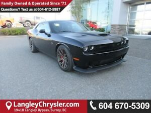 2016 Dodge Challenger SRT Hellcat <B>*NO ACCIDENTS*LOW KMS</B>