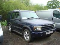 2002 LAND ROVER DISCOVERY 2.5 Td5 XS 5 seat 5dr NON RUNNER ENGINE SEIZED