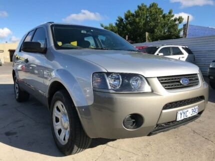 2009 Ford Territory SY TX Silver 4 Speed Sports Automatic Wagon Maidstone Maribyrnong Area Preview