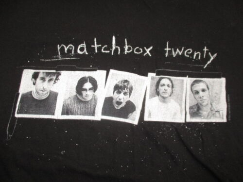 Vintage Cygnus Label - 2001 MATCHBOX 20 Concert Tour (XL) T-Shirt Rob Thomas