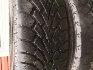 pneux d'hiver a vendre