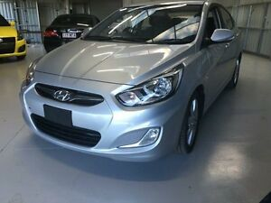 2012 Hyundai Accent RB Active Silver Metallic 4 Speed Automatic Sedan Mudgeeraba Gold Coast South Preview