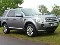 LAND ROVER FREELANDER 2.2 SD4 HSE 5d AUTO 190 BHP HSE with Cream Leather (grey) 2012