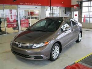 2012 Honda Civic Sedan 4dr Man EX