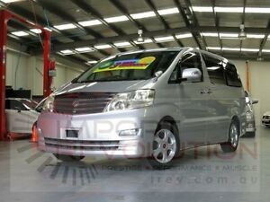 2005 Toyota Alphard MNH10 MNH10 Silver Automatic Wagon Bayswater Knox Area Preview