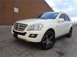 2010 MERCEDES-BENZ ML320 BLUETEC, PREMIUM PKG, DIESEL, LOADED
