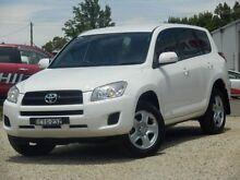 2011 Toyota RAV4 ACA33R 08 Upgrade CV (4x4) Glacier White 4 Speed Automatic Wagon West Bathurst Bathurst City Preview