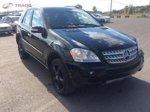 2006 MERCEDES ML 350 AUTOMATIQUE CLIMATISEE  CUIR TOIT OUVRANT