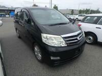 TOYOTA ALPHARD 3.0 MZG ULTIMATE SPEC MAY 2006 7 LEATHER GRADE 4 IN UK 71,000