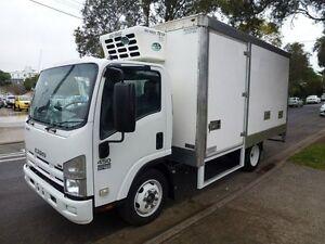 2008 Isuzu NQR 6 Pallet 450 Medium Refrigerated Truck 5.2l 4x2 Homebush West Strathfield Area Preview
