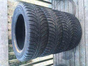 Four 225/60R17 Winter Tires