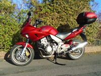 HONDA CBF 1000 A7 '07/07...........lovely undamaged low mileage bike.