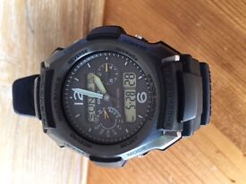 Casio G Shock GW 2500B-1AER **Excellent Condition**