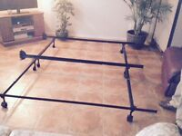 STURDY KING SIZE METAL BED FRAME