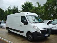 2011 VAUXHALL MOVANO 2.3 CDTI LWB H2 Van 125ps Euro 4 One Owner Van