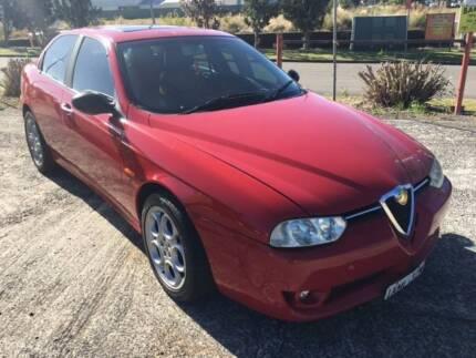 2002 Alfa Romeo 156 Sedan AUTO, P/S, A/C