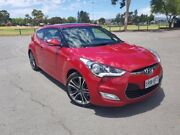 2016 Hyundai Veloster FS5 Series II Coupe Veloster Red 6 Speed Manual Hatchback Nailsworth Prospect Area Preview