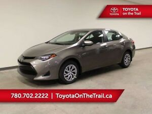 2019 Toyota Corolla LE CVT; A/C, HEATED SEATS, SAFETY SENSE, BAC