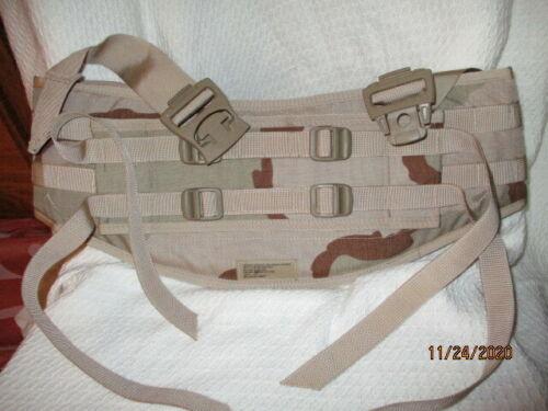 MOLLE II Backpack Molded Waist Belt Desert Camo NEW