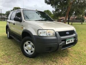 2001 Ford Escape BA XLS Summer Gold 4 Speed Automatic Wagon Somerton Park Holdfast Bay Preview