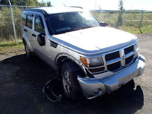 parting out 09 dodge nitro