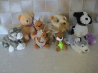 7 CUTE AND CUDDLY SOFT TOYS