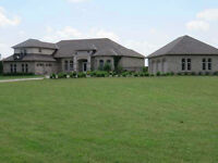 22 Acres with Gorgious Bungalow with loft and inground Pool