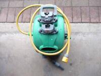 hoselock wall mounted hose reel