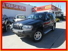 2002 Jeep Grand Cherokee WG MY2002 Laredo Black 5 Speed Automatic Wagon North Parramatta Parramatta Area Preview
