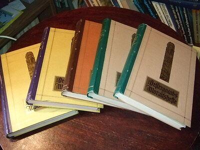 6x Oestergaards Halbjahresbuch,1928-30,gebundene Monatshefte,Antikbuch!,s.Text