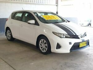 2014 Toyota Corolla ZRE182R Ascent S-CVT White 7 Speed Constant Variable Hatchback Homebush Strathfield Area Preview