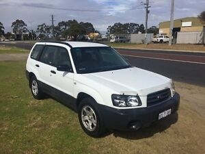 2004 Subaru Forester 79V MY05 129000KM White Automatic Wagon Wangara Wanneroo Area Preview