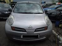 2004 NISSAN MICRA 1.2 PETROL BREAKING FOR PARTS