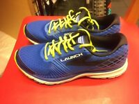 Brooks 'Launch 3' Running Shoes- blue/yellow.