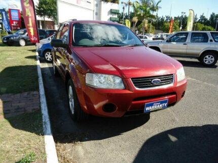 2004 Ford Territory SX TX AWD Red 4 Speed Auto Seq Sportshift Wagon Dutton Park Brisbane South West Preview