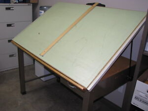 Price Reduced - Drafting Table - Heavy Duty