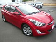 2014 Hyundai Elantra MD3 Active Red 6 Speed Sports Automatic Sedan Melrose Park Mitcham Area Preview