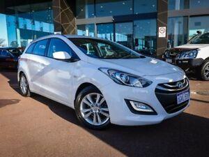 2014 Hyundai i30 GD Active Tourer White 6 Speed Sports Automatic Wagon Maddington Gosnells Area Preview